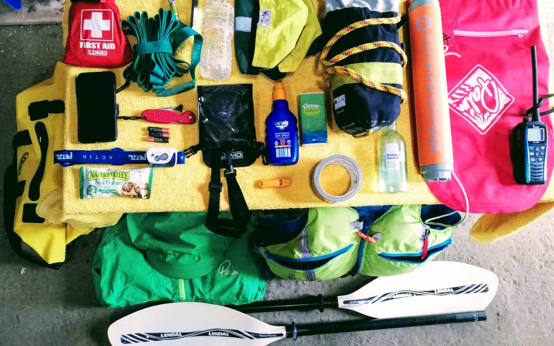 What to pack for a kayaking day trip?